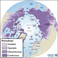 Permafrost Distribution Graphic